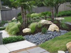 Eco-friendly landscaping design for frontyard and backyard 62