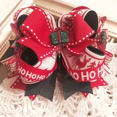 Christmas Presents boutique bow