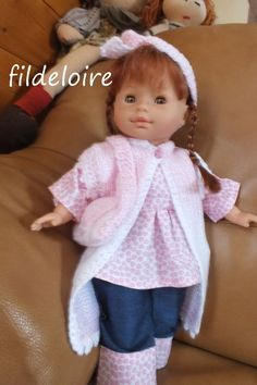 tuto, modèle gratuit pour la poupée Corolle et Paola Reina de 36 cm