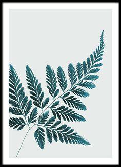 Snygg botanisk poster