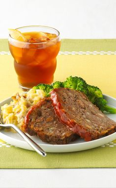 Family Classic Meatloaf — There's a reason it's a classic! It's a meatloaf the whole family will love—and if you're busy, you'll love it, too. (Prep time: 10 minutes.)