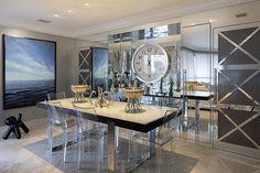 Open house   Brunete Fraccaroli. Veja: http://casadevalentina.com.br/blog/detalhes/open-house--brunete-fraccaroli-3201 #decor #decoracao #interior #design #casa #home #house #idea #ideia #detalhes #details #openhouse #style #estilo #casadevalentina #diningroom #saladejantar