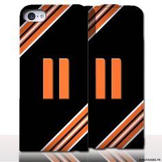 Protection iPhone 5 Cuir Numero 11. #Aude #iPhone5 #Cuir #etui