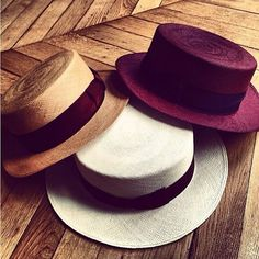 gentlemen wear hats