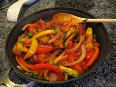 Jamie Oliver's Grilled Chicken Fajitas ~ Sizzling meat, onions, and bell peppers seem untamed and exciting, while the fragrant rising steam always promises a flavorful meal to come. #recipe #Cinco de Mayo #comfort food