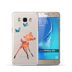 Cute Cartoon Hard PC Phone Cover Fundas For Samsung Galaxy J3 J5 J7 A3 A5 A7 2017 2016 2015 S6 S7 Edge S8 Plus Grand G531 Case