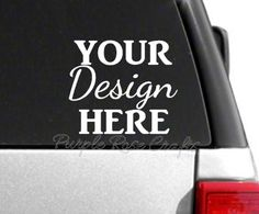 Custom Decal Sticker by PRCdecals on Etsy