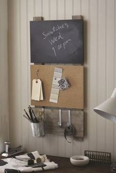 43 Very Useful Ideas For Mini Office In The Living Room.), up to the much family activity centered on the living room of a home. Carton Diy, Family Command Center, Command Centers, Mini Office, Neat And Tidy, Wall Organization, Wooden Shelves, Dorm Decorations, Getting Organized
