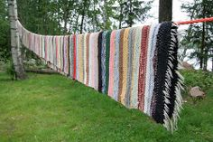 Räsymatto - rag rugs is what I want to my home