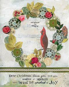 Merry Christmas! Kelly Rae Roberts