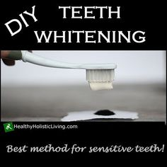 Are you looking for an all natural teeth whitening method? Try these two DIY Teeth Whitening Recipes