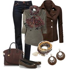"""""""Jacquard Scarf"""" by smores1165 on Polyvore"""