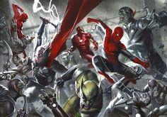 #Spiderman #Fan #Art. (Secret Invasion Covers) By: Gabrielle Dell Otto. (THE * 5 * STÅR * ÅWARD * OF: * AW YEAH, IT'S MAJOR ÅWESOMENESS!!!™)[THANK Ü 4 PINNING!!!<·><]<©>ÅÅÅ+(OB4E)