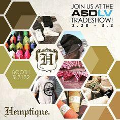 Touchdown #vegas Come check us out @asdshow tomorrow!  Let's bring #hemp in the #sincity #asdmarketweek #lasvegas #tradeshow #hemptique #hempgifts #hempapparel #hempbag #hempeverything #hempcord #sustainablefashion #earthfriendlyproducts by hemptique