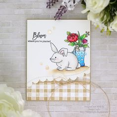 Marge Crafts: [Simon Says Stamp] Easter cards using SSS March 2018 card kit