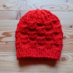 103 Mütze rot Glücksfrosch