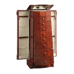 Rayford Jewelry Armoire with Mirror - http://delanico.com/jewelry-armoires/rayford-jewelry-armoire-with-mirror-595532142/