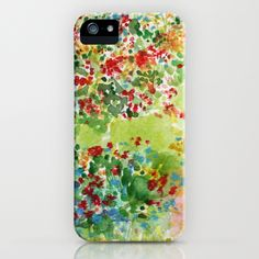 my new case :)  Meadows iPhone Case by @Jenny Vorwaller