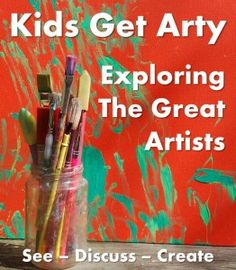 Are you taking part? Join us on our Arty journey discovering and exploring Great Artists with our kids!