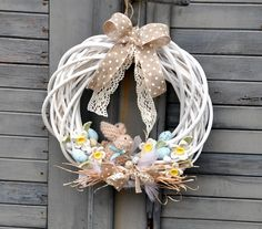 1 million+ Stunning Free Images to Use Anywhere Diy Wreath, Ornament Wreath, Grapevine Wreath, Easter Wreaths, Holiday Wreaths, Easter Gift, Easter Crafts, Diy Osterschmuck, Diy Easter Decorations