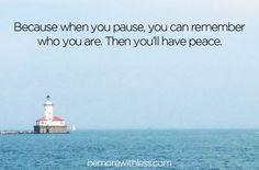 7 Places to Pause for Peace in Your Life