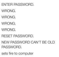 Funny Enter Password