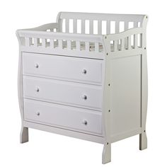 Also select a changing table that converts to a dresser http://www.wayfair.com - Designing A Nursery That Will Grow Up With Your Baby