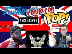 Pop Chat! NYCC 2016 Funko Exclusives. All 5 Waves. Featuring Matthew Movies - Video --> http://www.comics2film.com/pop-chat-nycc-2016-funko-exclusives-all-5-waves-featuring-matthew-movies/  #Comic-Con