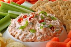 5 Sensational Summer Dips (pictured:Sun-Dried Tomato Dip)