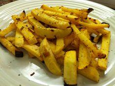 Crispy Rutabaga Fries