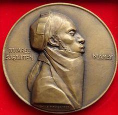France - Exhibition medal Touareg/Niger 1930 - Emile Monier - Catawiki