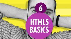 HTML5 Basics - HTML5 Tags (Part6)