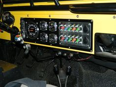 Re-Wire / New Gauges and Dash / switch panel project - Jeep-CJ Forums