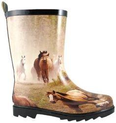 af45fdffb Smoky Mountain Kids Running Horse Rubber Boots Smoky Mountain.  24.84 Kids  Boots
