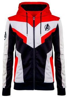 c6ad8ed5c4fc6 Details about Mens Avengers Endgame Quantum Realm Adult Superhero Hoodie  Zipper Cosplay Jacket