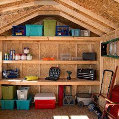 Stonecroft 12' x 10' Wood Storage Shed