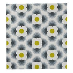 Figure F : Orla Kiely striped flower wallpaper Powder Room Wallpaper, Wall Wallpaper, Pattern Wallpaper, Flower Wallpaper, Retro Pattern, Pattern Design, Textile Patterns, Print Patterns, Usa House