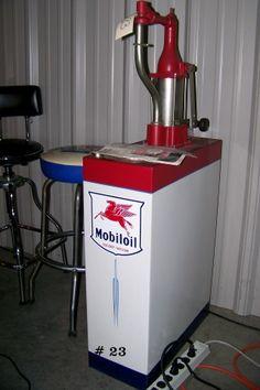 Standard Oil Double Lubester on Cart Restored Dispenser ...