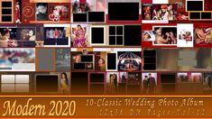NEW 2020 Classic Wedding Photo Album 12x36 DM Pages-Vol-12