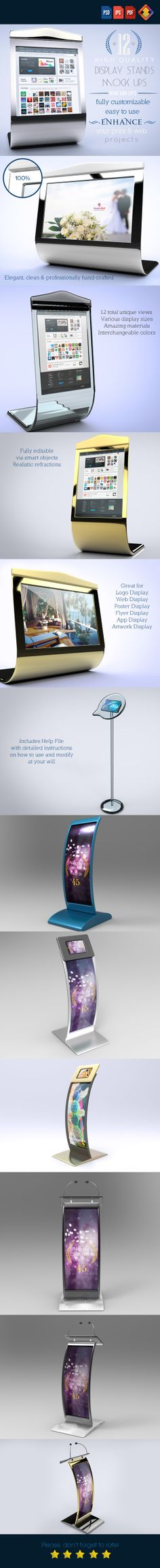 Here's an interesting compact way to have an updatable, standup screen.