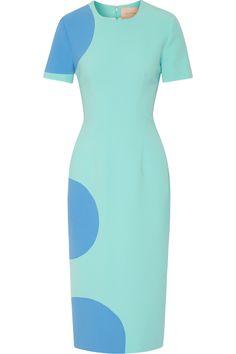 RoksandaPrinted crepe dress