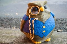 Cedric the Owl from King's Quest V by CarryTheWhat. His voice may have been annoying but I still thought he was cute.