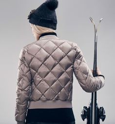 LIMITED EDITION QUILTED BOMBER JACKET
