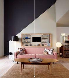 "172 Beğenme, 1 Yorum - Instagram'da Konsept Works (@konseptworks): ""◾⬜ diagonallines #interiordesign #design #designer #tasarım #interior #furniture #mobilya #nice…"""