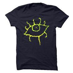 Green Eye Design T Shirts, Hoodies. Get it now ==► https://www.sunfrog.com/Zombies/Green-Eye-Design.html?41382