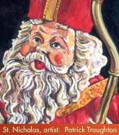 St. Nicholas Coloring Pages- print for children to color during Advent and Christmastide!