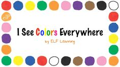 Introduce your kids to #colours with this simple, singable and enjoyable song. #kidsvideo #learningcolors