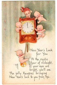New Years Eve Kewpies