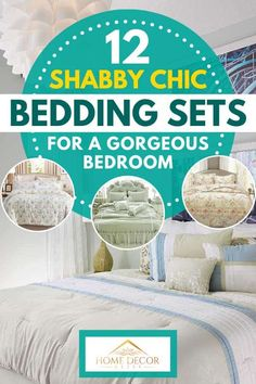 12 Shabby Chic Bedding Sets For a Gorgeous Bedroom - Home Decor Bliss Bedroom Retreat, Cozy Bedroom, Bedroom Decor, Bedroom Ideas, Shabby Chic Bedding Sets, Shabby Chic Decor, Home Decor Items, Home Decor Inspiration, Painted Furniture