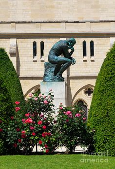 The Thinker by Auguste Rodin in Paris, France. I have actually seen this with my own eyes! Paris France, Paris 3, France Art, Ville France, I Love Paris, Auguste Rodin, Paris Travel, France Travel, Tour Eiffel